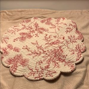 Estate Item - One French Country Style Mat
